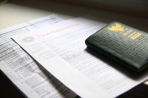 I-20 and Passport