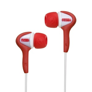 Skullcandy Smokin' Buds Red White