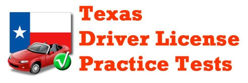 Texas Driver License Practice Test Android App Logo