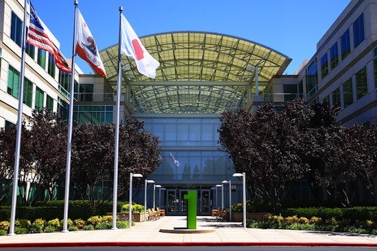 Apple HQ at Cupertino