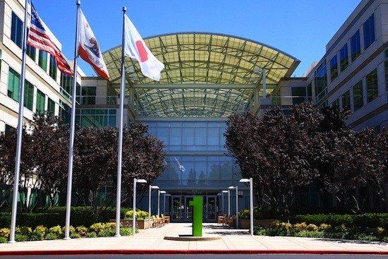 Apple HQ at Cupertino