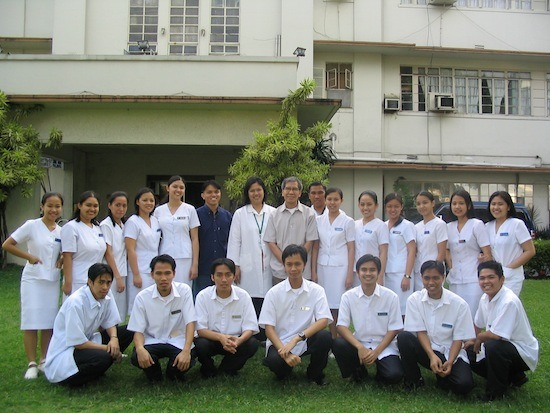 AUP Medical Technology Interns 2004 - Manila Sanitarium