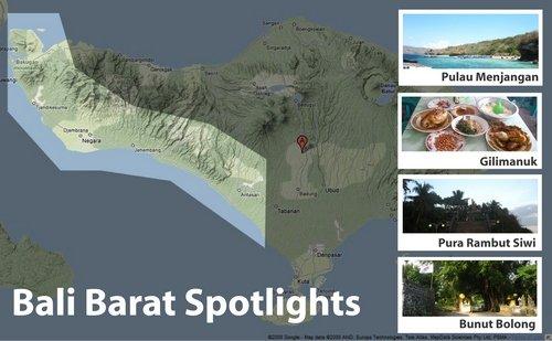 Bali Barat Spotlights