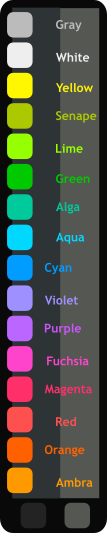 Textmate Syntax Colors