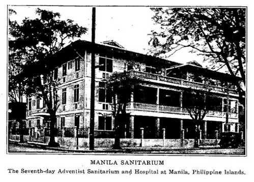 Manila Sanitarium and Hospital Year 1934